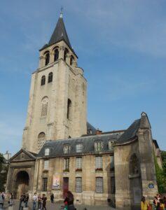 画像に alt 属性が指定されていません。ファイル名: サンジェルマンデプレ教会-237x300.jpg